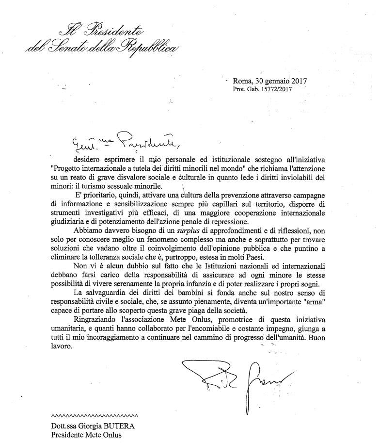 letterapresidentegrasso